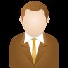 Brown-man icon