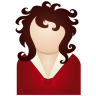 Red-woman icon