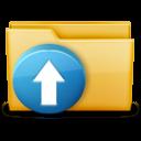 Folder-Upload icon