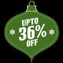 Upto-36-percent-off icon