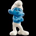 Grouchy-smurf icon