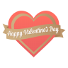 Happy-valentines-day icon