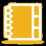 Yellow-address-book icon