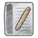 Scribble-document icon