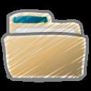 Scribble-folder icon