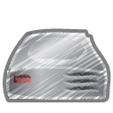 Scribble-hard-driver icon