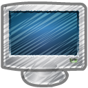 Scribble-monitor icon