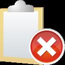 Note-remove icon