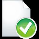 Page-accept icon