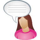 She-user-comment icon