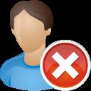 User-remove icon