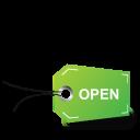 Tag-open icon