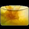 Folder-Abstract-Yellow icon