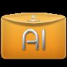 Folder-Text-Adobe-Illustrator icon