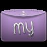 Folder-Text-My icon