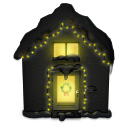 Snowy-House-Dark icon