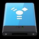 Blue-Firewire-W icon