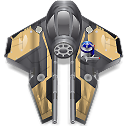Obi-Wan-starfighter icon