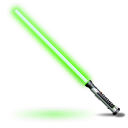 Qui-Gon-Jinns-light-saber icon
