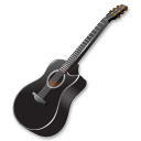 Black-guitar icon