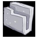Folder-gray icon