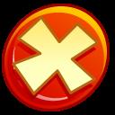 Button-cancel icon