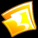 Folder-yellow icon