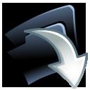 Folder-down icon