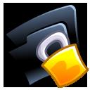 Folder-lock icon