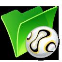 Folder-ball icon