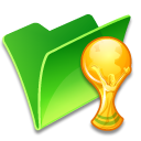Folder-trophy icon