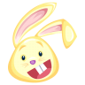 Yellow-rabbit icon