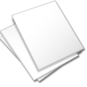 Documents-white icon