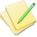 Documents-yellow-edit icon