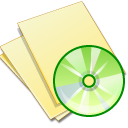 Documents-yellow-music icon