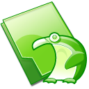 Folder-penguin icon