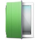 IPad-White-green-cover icon