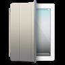 IPad-White-beige-cover icon