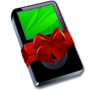 Ipod-black-gift icon