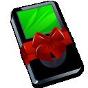 Ipod-black-gift icon
