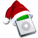 Ipod-santaclaus icon