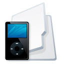 Folder-iPod-black icon