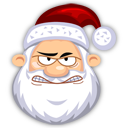 Angry-SantaClaus icon