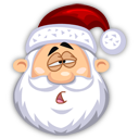 Tired-SantaClaus icon