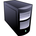Black-server icon