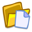 Folder-files icon
