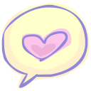 Love-chat icon