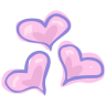 Hearts-love icon