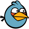 Angry-bird-blue icon