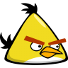 Angry-bird-yellow icon